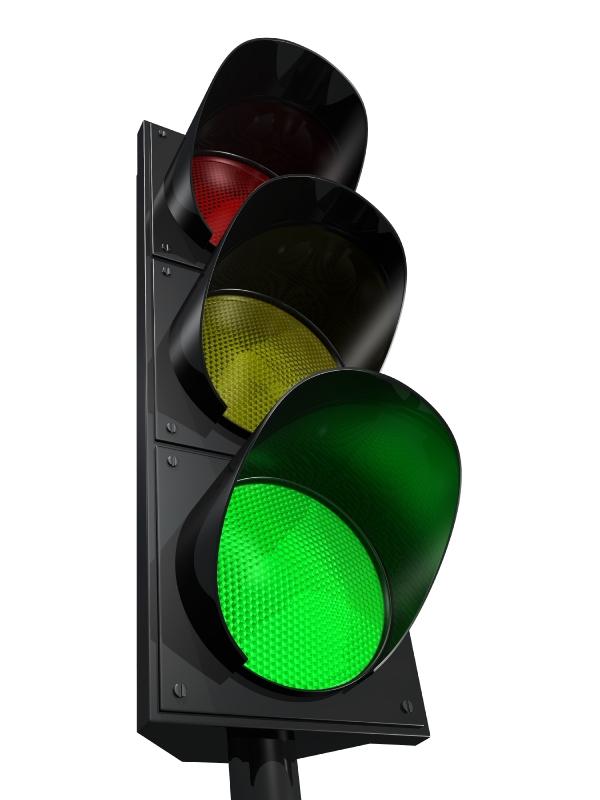 Green Traffic Light Clipart - Clipart Kid