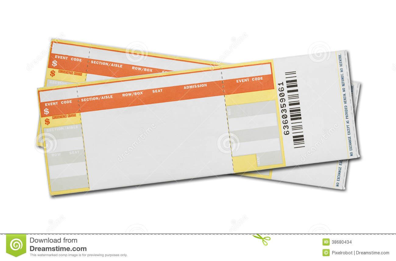 Blank Concert Ticket Template blank concert ticket template – Concert Ticket Layout