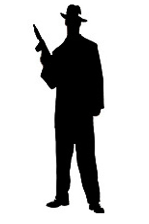 Gangster Silhouette Png 12 14 Pm 8214 Man Png
