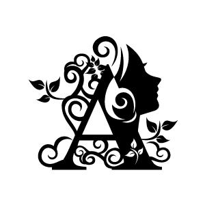 Black Flower Design Clipart - Clipart Kid