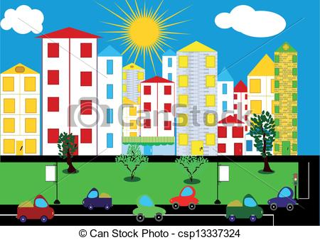 Urban Community Map Clipart - Clipart Suggest