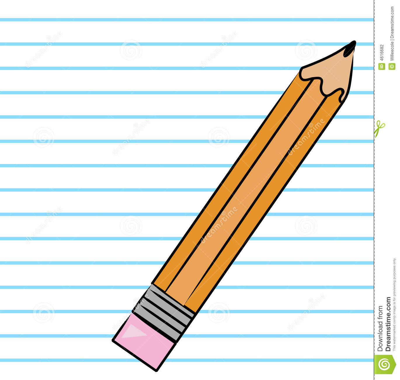 Pencil No Background Clipart - Clipart Suggest