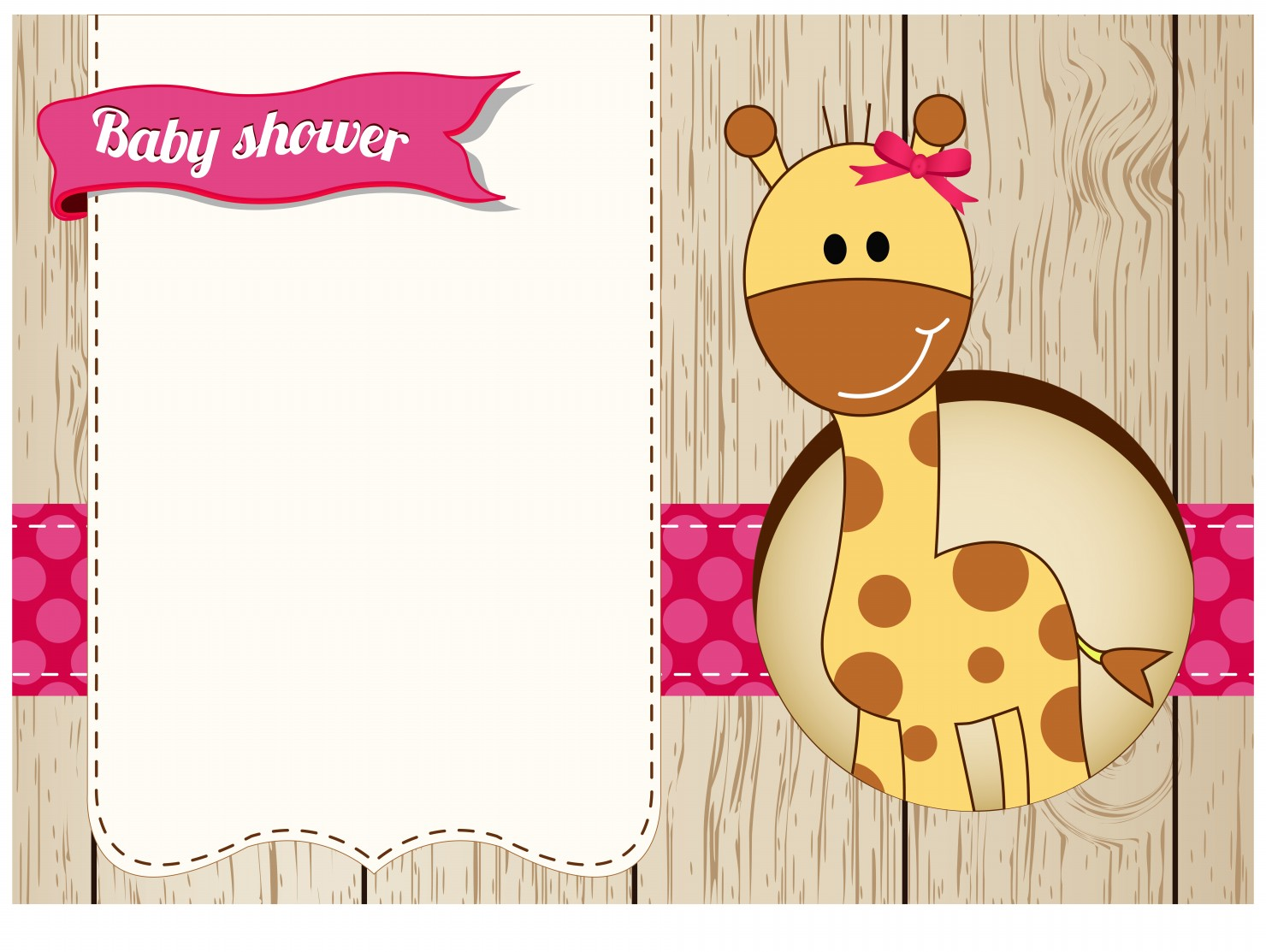 Giraffe Baby Shower Clipart - Clipart Kid