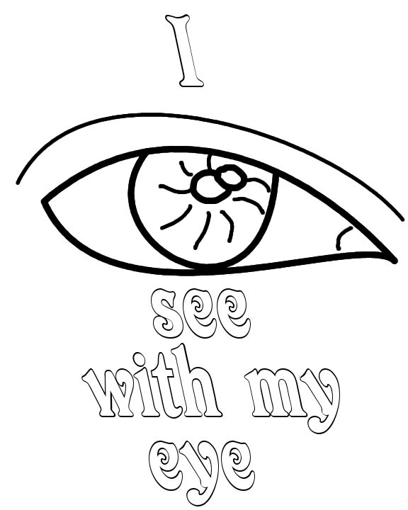 Eyes Coloring Pages Clipart - Clipart Kid