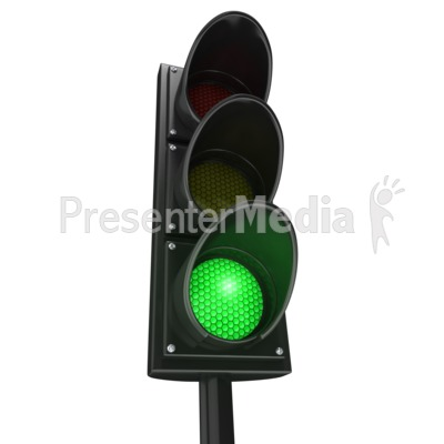 Traffic Light Green Go   Signs And Symbols   Great Clipart For