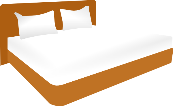 Cartoon Bed Clipart   Clipart Best