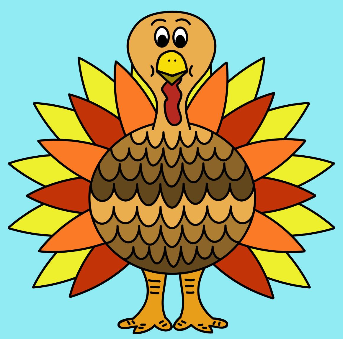 funny turkey clipart free - photo #45