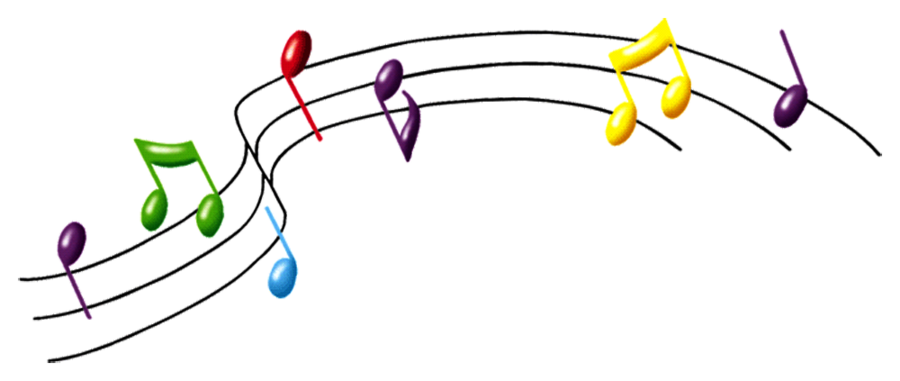 Colorful Musical Notes Png   Clipart Panda   Free Clipart Images