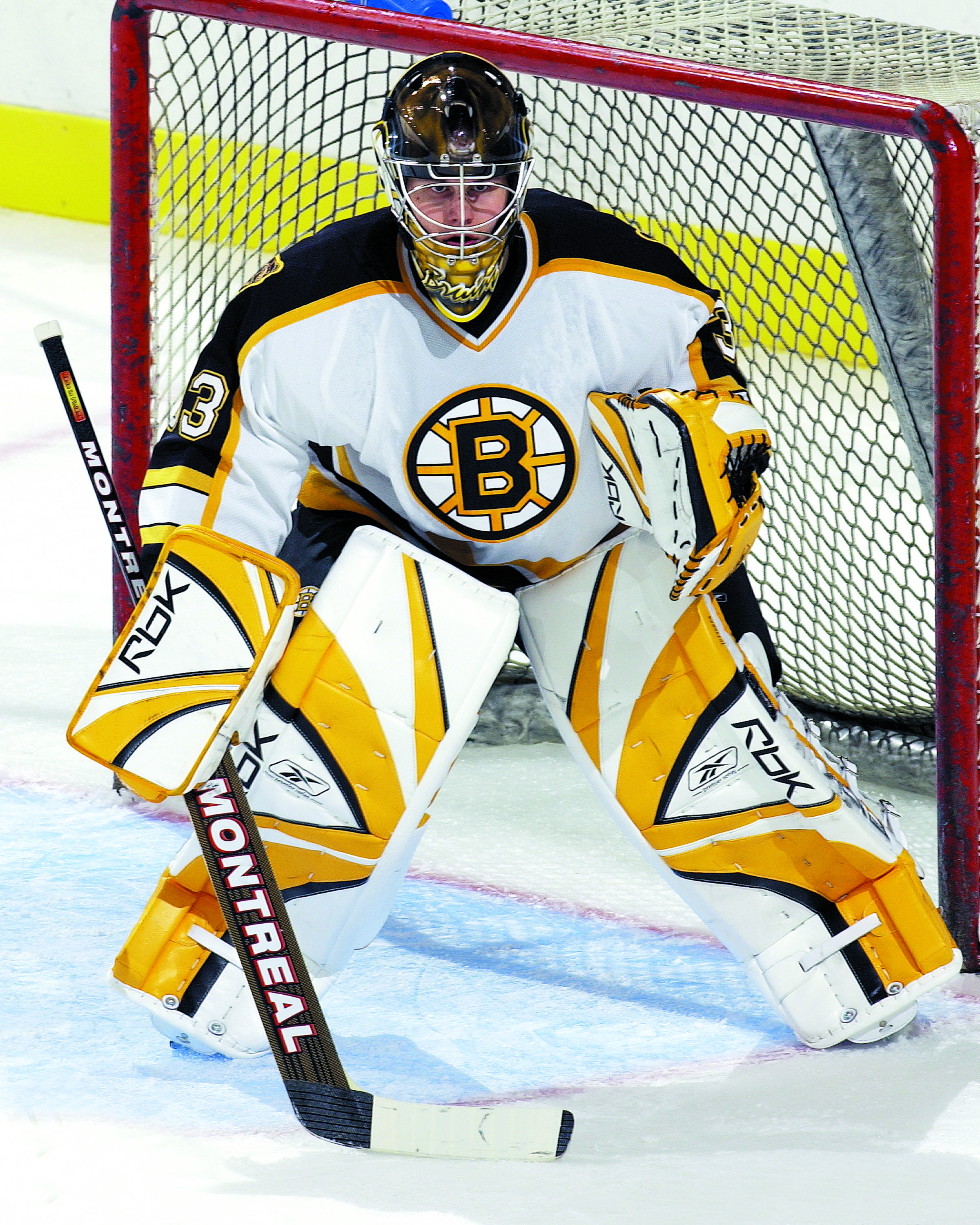 Boston Bruins Goalie Clipart - Clipart Kid