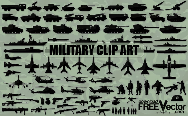 Military Clip Art Free Vector Collection Military Technical And