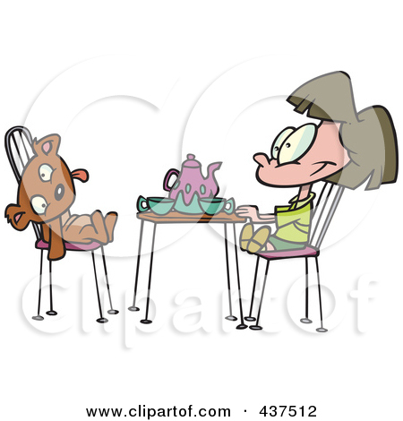 Royalty Free  Rf  Tea Time Clipart   Illustrations  1