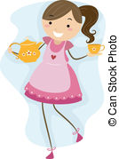 Tea Clipart And Stock Illustrations  39076 Tea Vector Eps