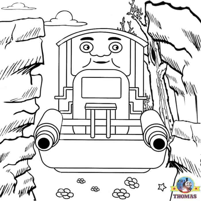 Thomas Colouring Free Colouring Pages For Kids Train Thomas The ...