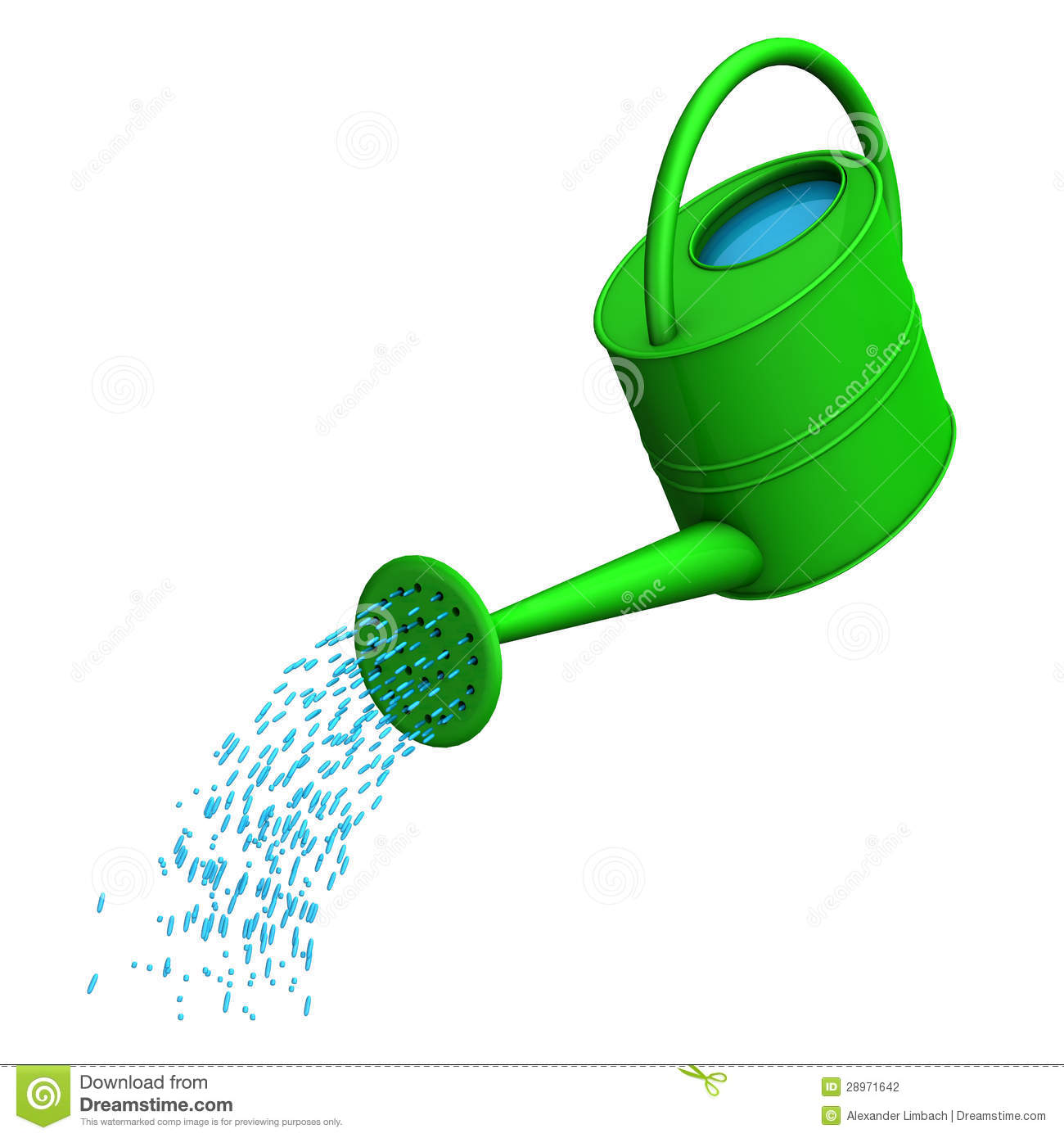 Watering Can Clipart Black And White - More information