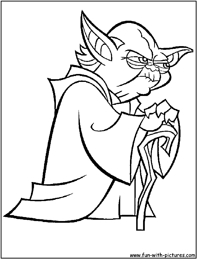 Yoda Black And White Clipart - Clipart Kid