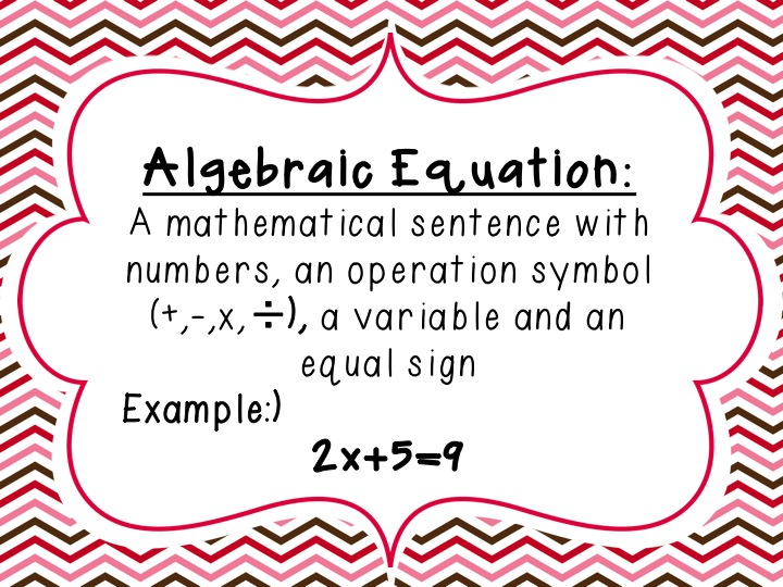 Algebra Equation Clipart Fall In Love With Algebra