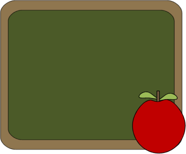 Chalkboard Background Clipart Chalkboard And Apple Clip Art
