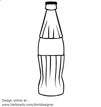 coke bottle clip art � cliparts