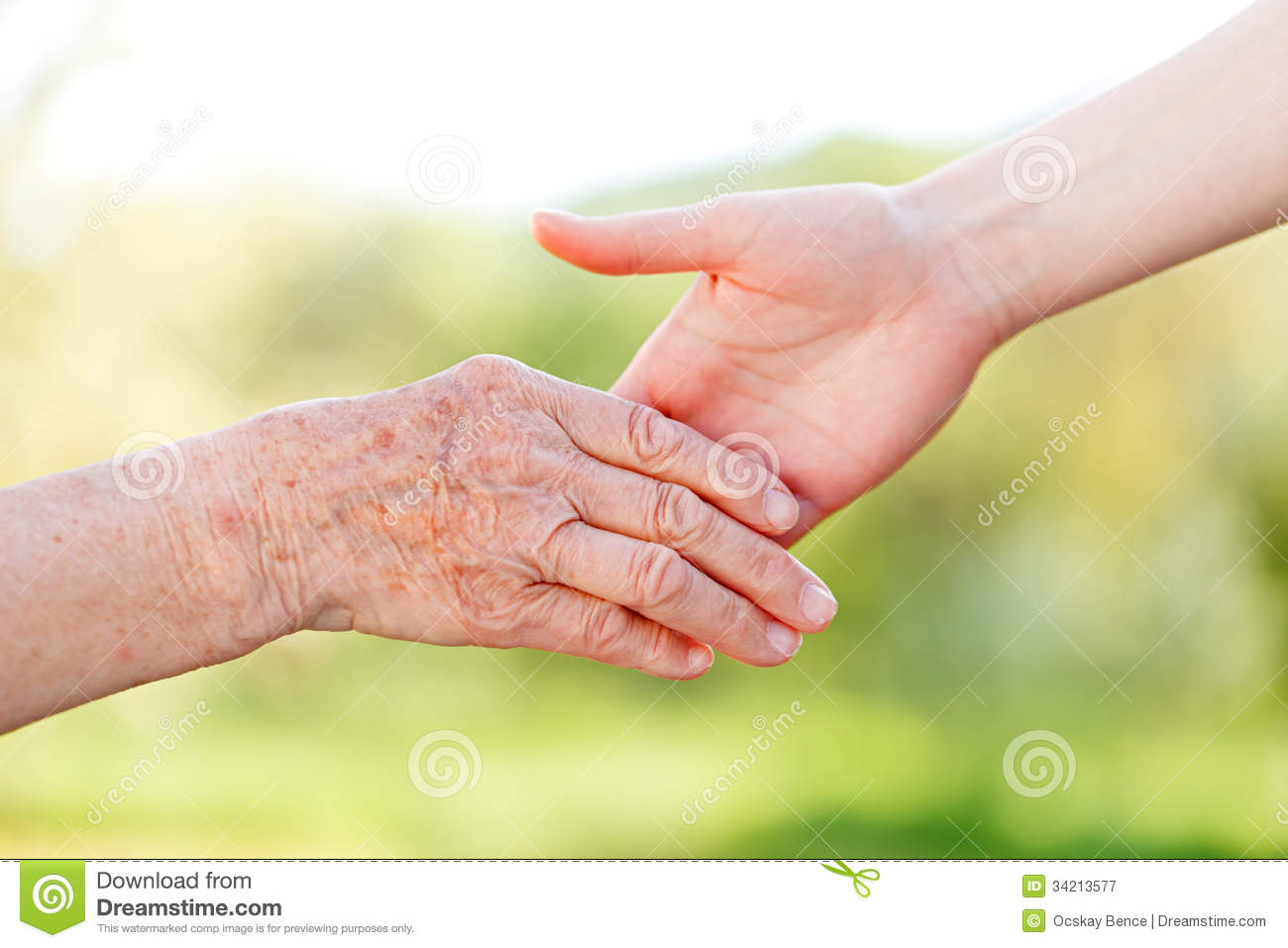 Elderly Care Royalty Free Stock Photography   Image  34213577