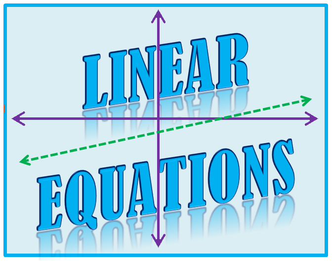 Linear Equations Clipart Linear Equations Png