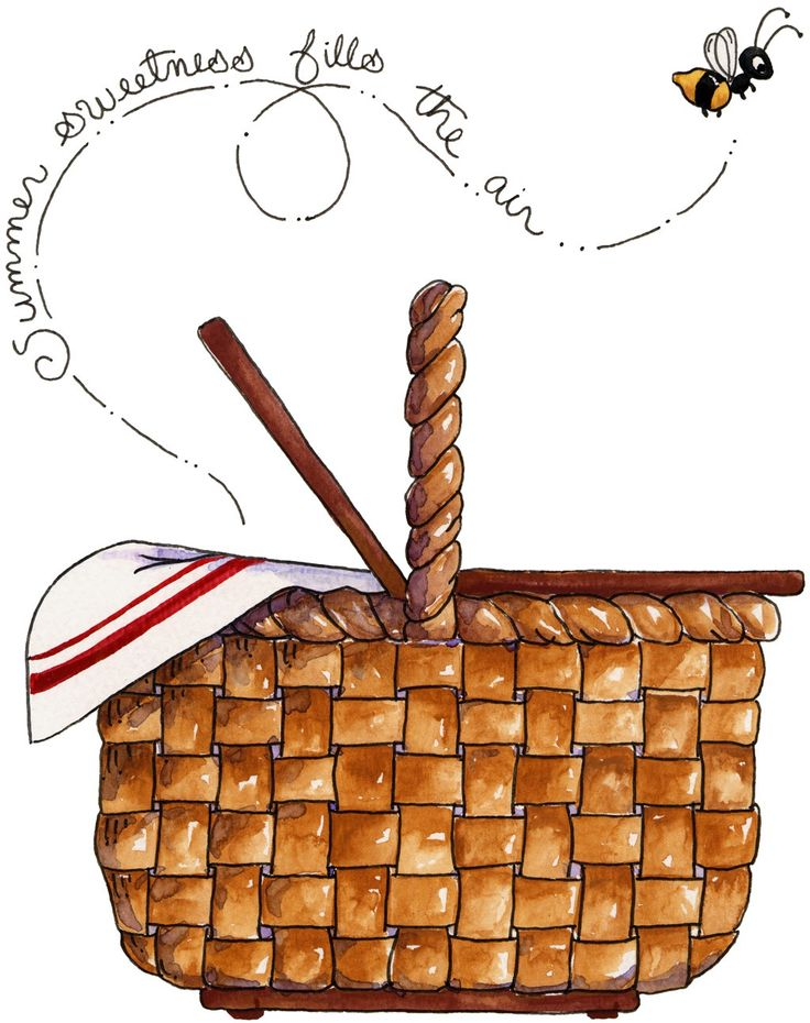 Clip Art Picnic Basket Clipart country picnic basket clipart kid pin by deb krus on printables 14 pinterest