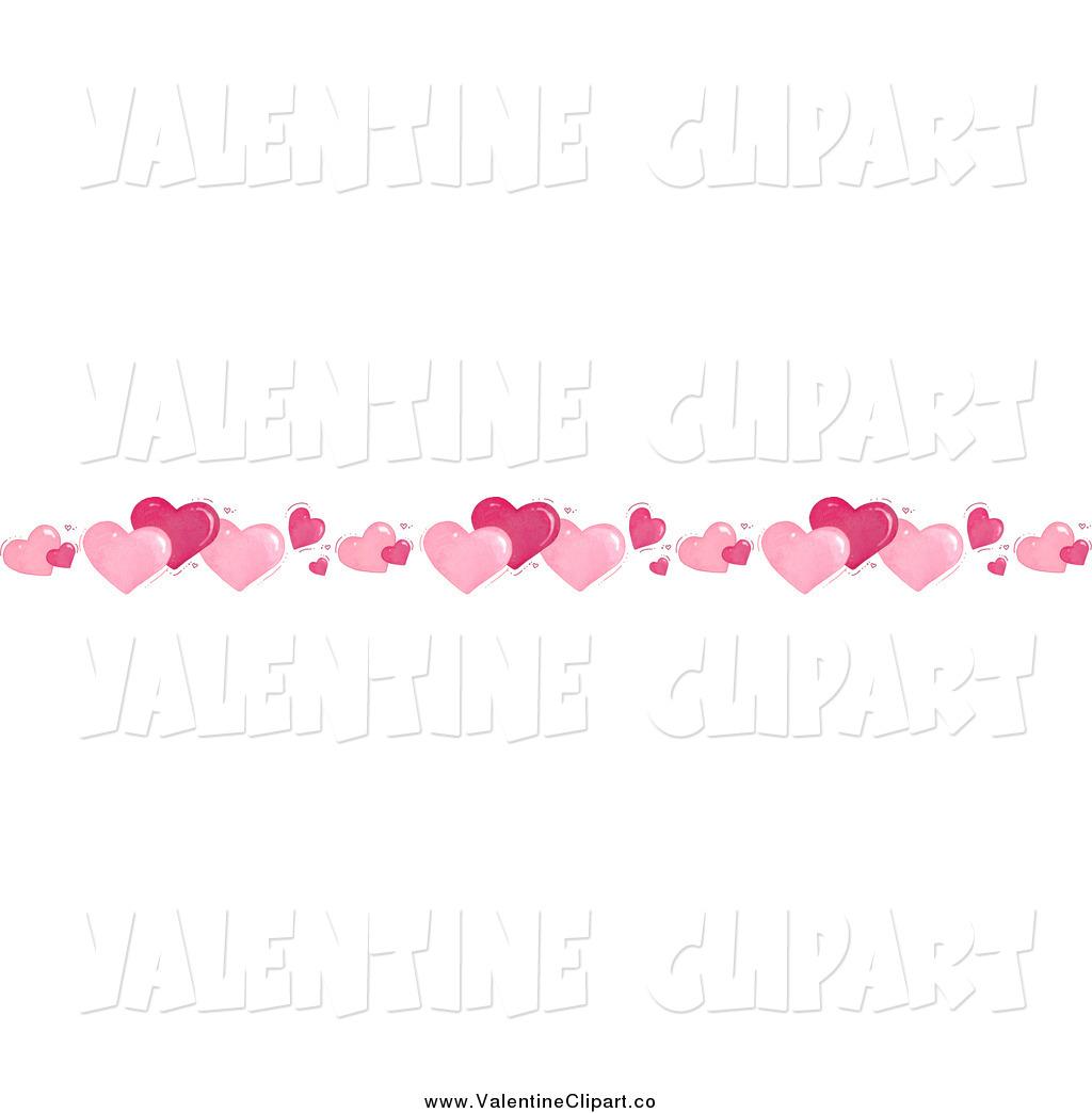 Valentine Heart Border Clipart - Clipart Kid