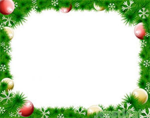 Christmas Wreath Border Vector   Ai   Free Graphics Download