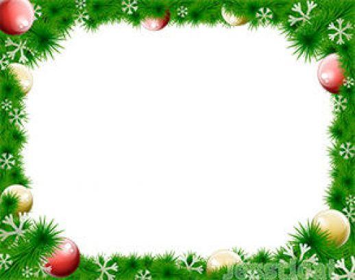 clipart christmas garland border - photo #28