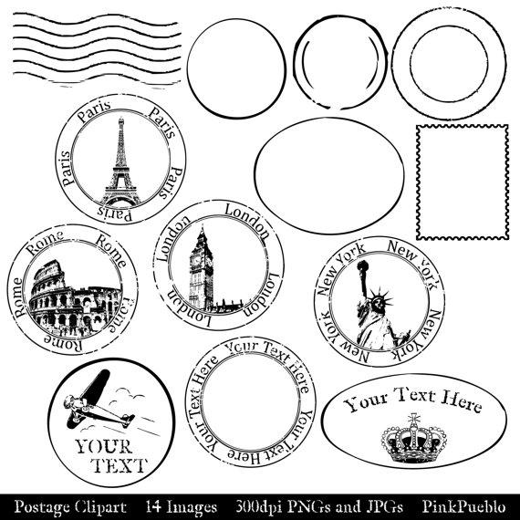 vintage travel clipart black and white - photo #8