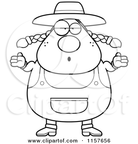 Farmers Wife Coloring Pages Farmer And Wife Colouring