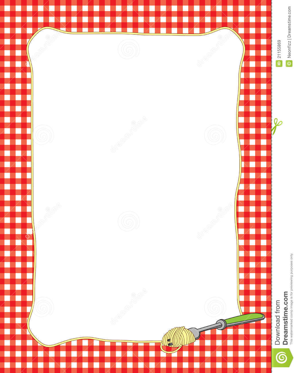 Border Kitchen Utensils Clipart - Clipart Suggest
