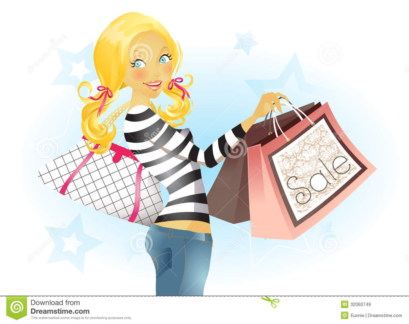 Royalty Free Stock Images  Shopping Spree  Image  32060749