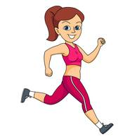 Running Clipart Hits 184 Size 29 Kb From Cheetah Clipart