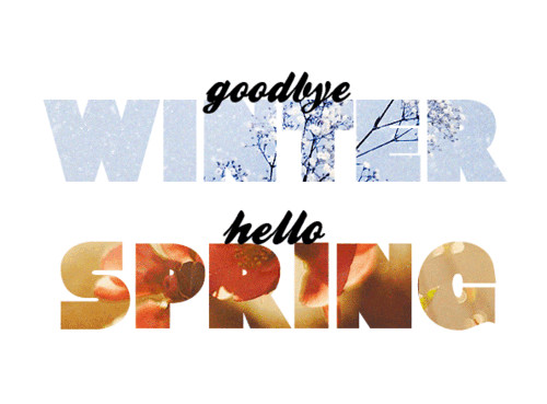 She Left Her Mind Behind  Goodbye Winter Hello Spring