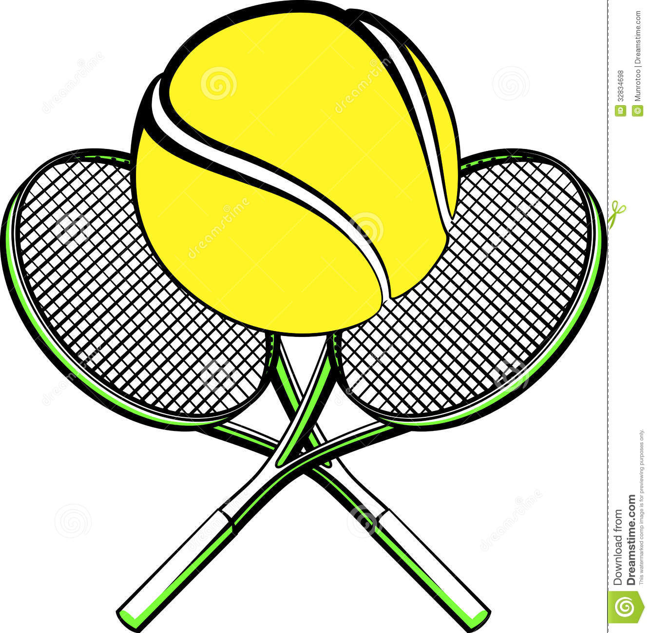 Tennis Ball And Racket Clip Art   Clipart Panda   Free Clipart Images