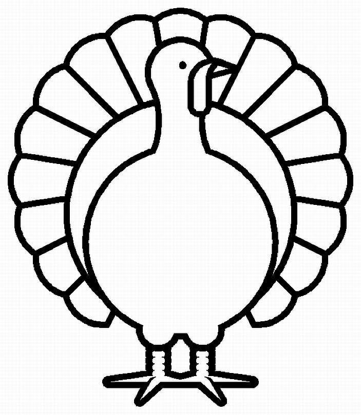 Turkey Coloring Pages   Clipart Panda   Free Clipart Images