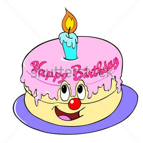 Clipart Birthday Dancing Cake : Happy Birthday Animated Clipart - Clipart Suggest