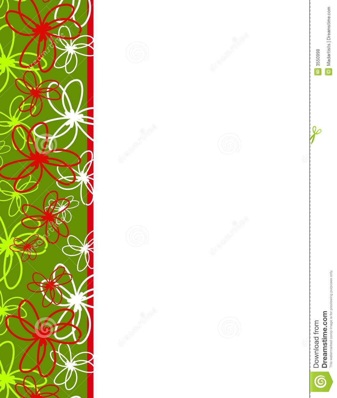 Ribbon Christmas Border Clipart - Clipart Kid