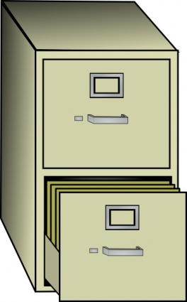 Download Metal File Cabinet Clip Art Vector For Free
