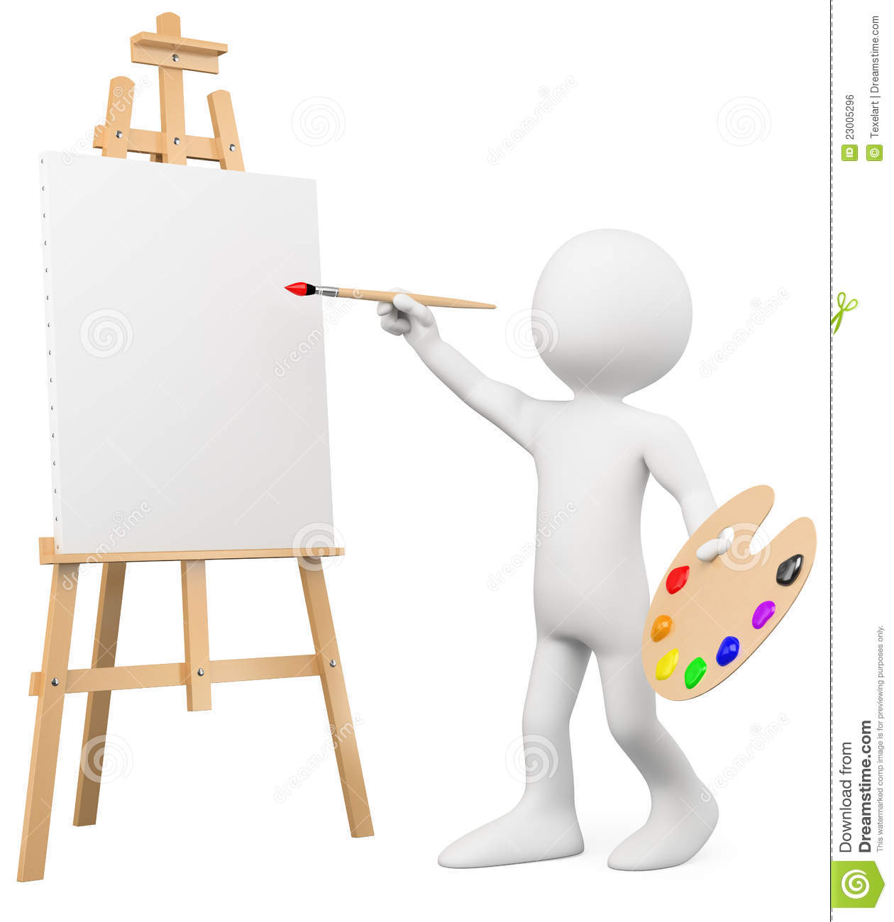 Art Easel Gallery Clipart - Clipart Kid