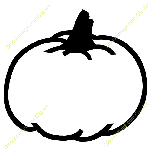 Pumpkin Outline Template   Clipart Panda   Free Clipart Images