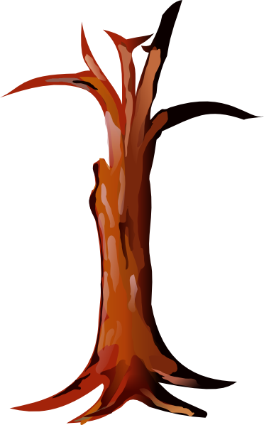 Brown Tree Trunk Clipart - Clipart Suggest