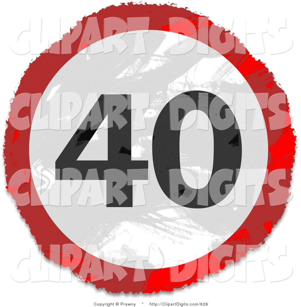Clip Art Of The Number 40 Clipart - Clipart Suggest 40 Clipart
