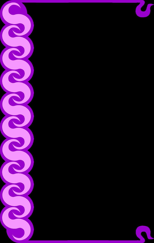 purple line border clipart clipart suggest