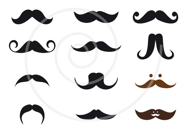 Mexican Mustache Clipart - Clipart Kid