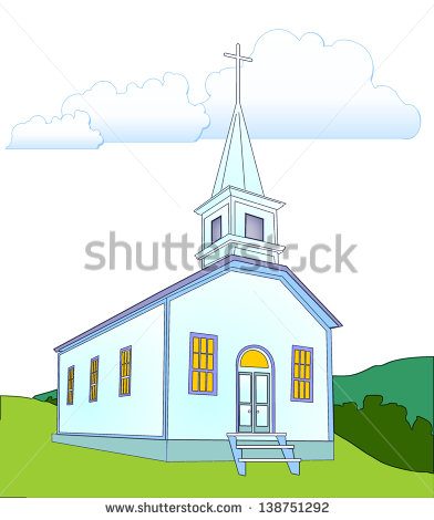 Country Church Building Clipart White Country Church Clip Art ...