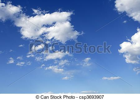 Daytime Sky Clipart Stock Photo   Blue Perfect Sky