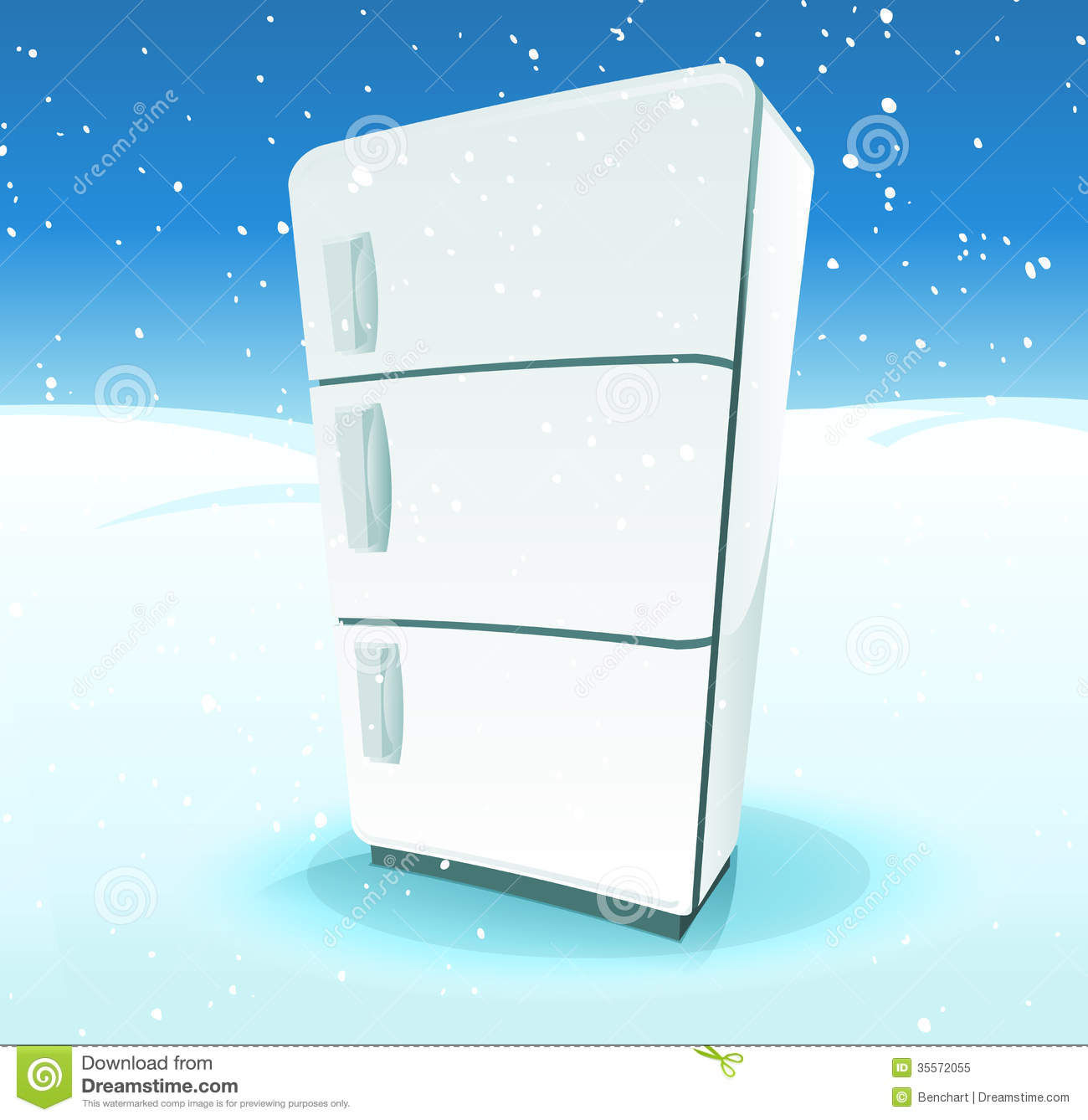 Dirty Refrigerator Clipart Fridge Inside North Pole