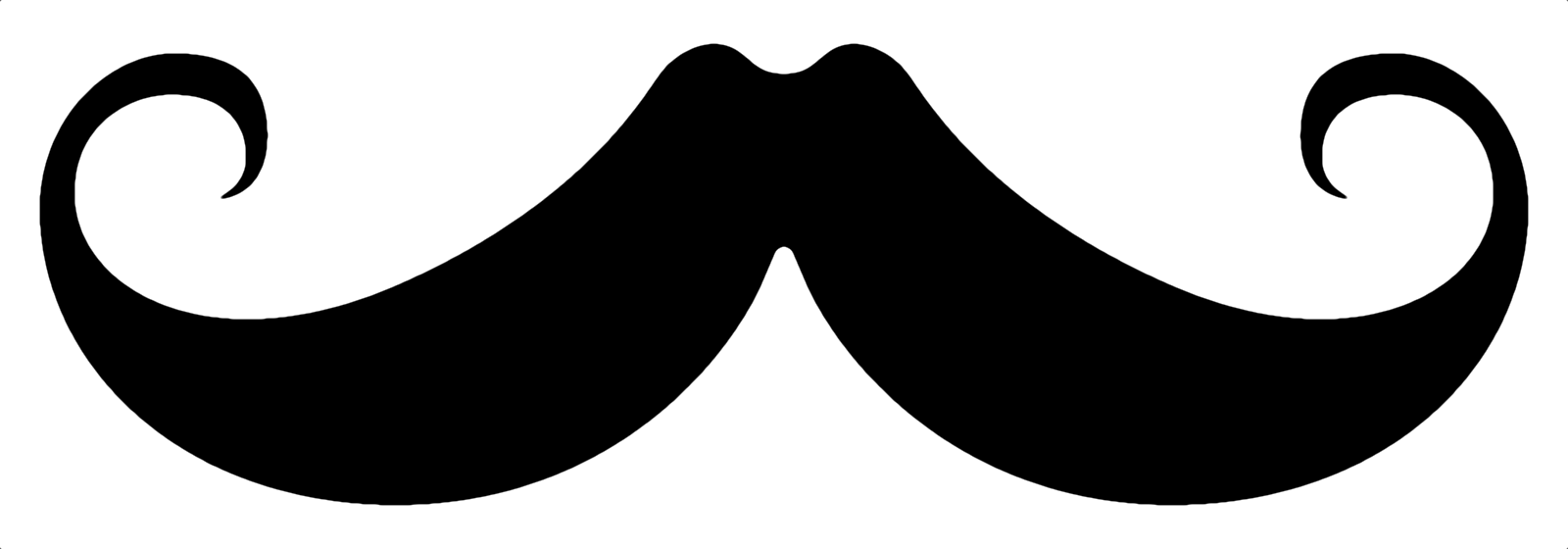 French Mustache Black Mustache