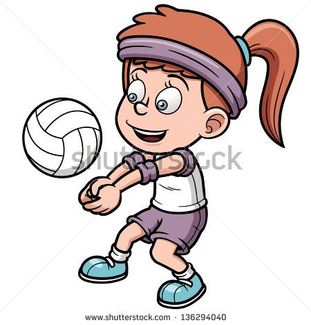 Go Back   Gallery For   Playing Volleyball Cartoon